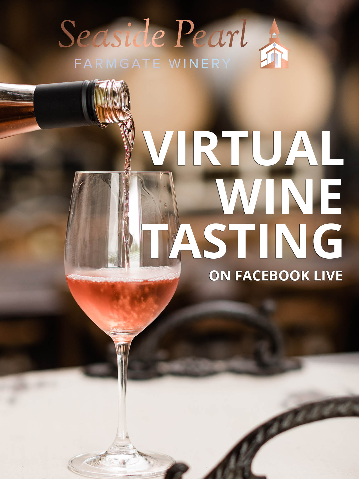 Join Seaside Pearl for our Virtual Wine Tasting!